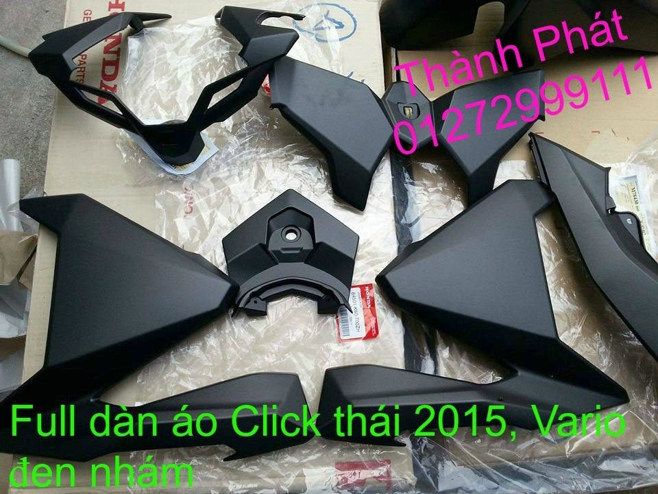 Phu tung Honda Click i 125 doi 2015 thailan Va Vario150 Gia tot - 15