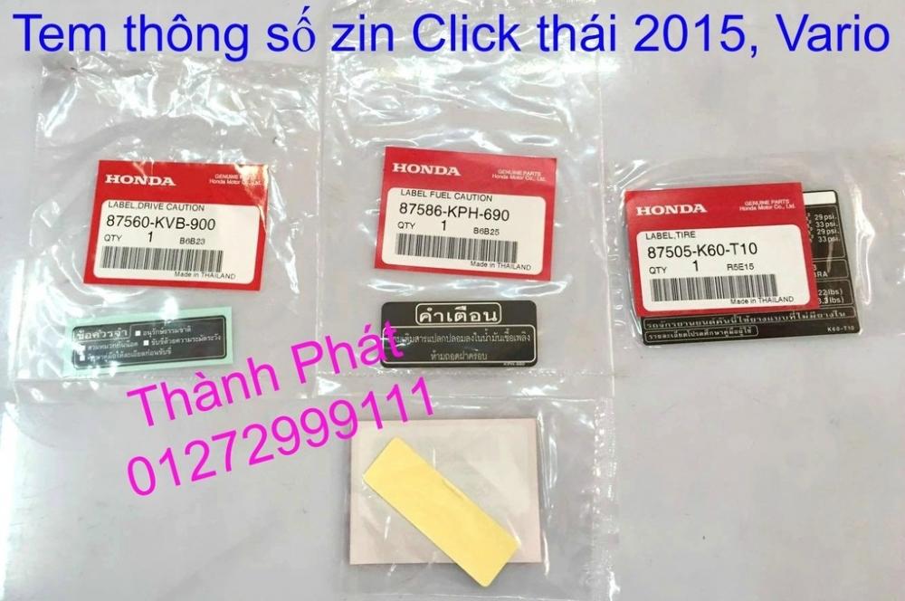 Phu tung Honda Click i 125 doi 2015 thailan Va Vario150 Gia tot - 9