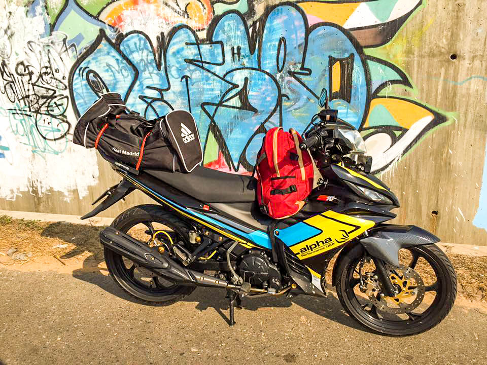 Exciter don theo phong cach touring