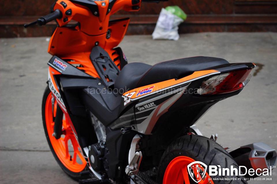 Honda Winner 150 Do phien ban Repsol cuc ky ngau - 7