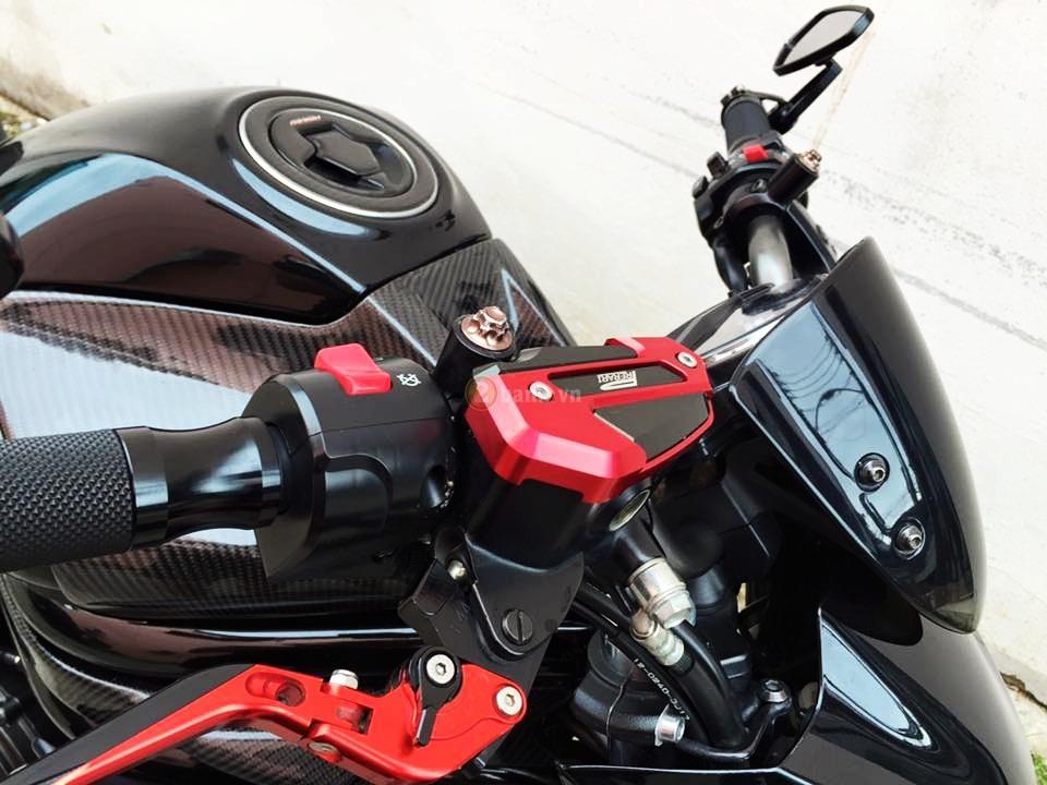 Kawasaki ER6N trong ban do full carbon cuc chat - 3
