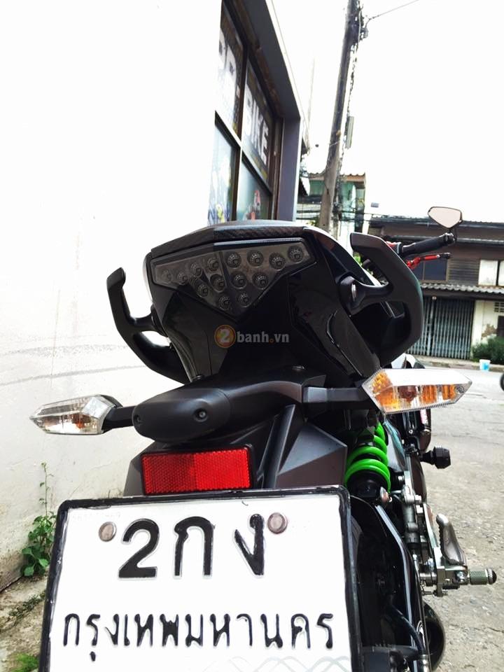 Kawasaki ER6N trong ban do full carbon cuc chat - 7