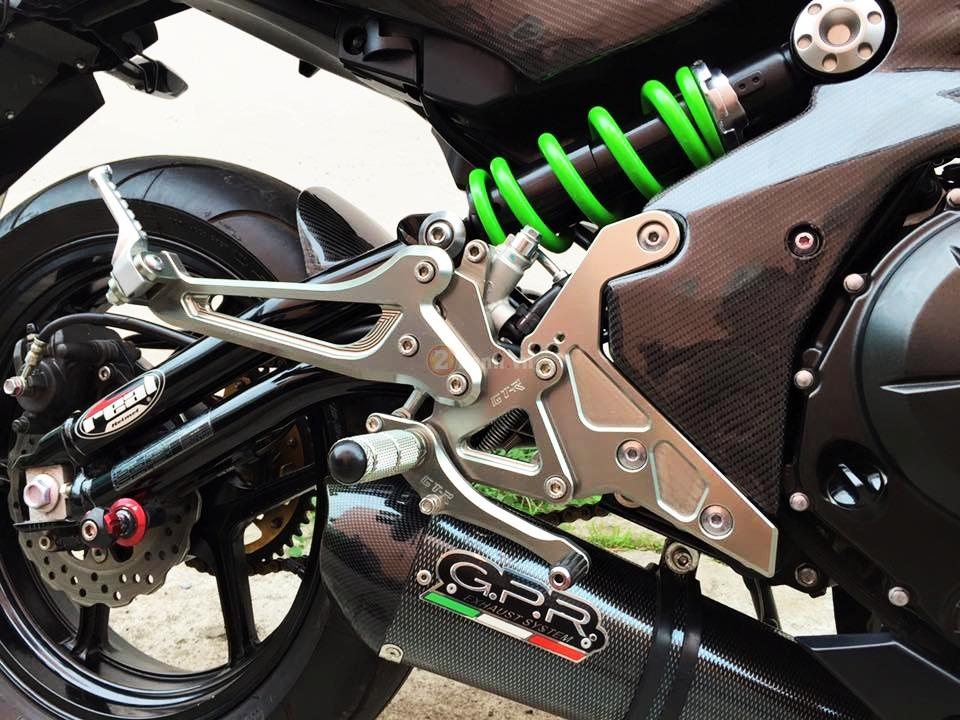 Kawasaki ER6N trong ban do full carbon cuc chat - 9