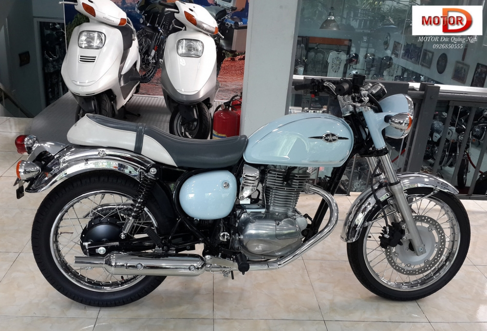 Kawasaki Estrella 250 gia dep nhat Viet Nam - 2