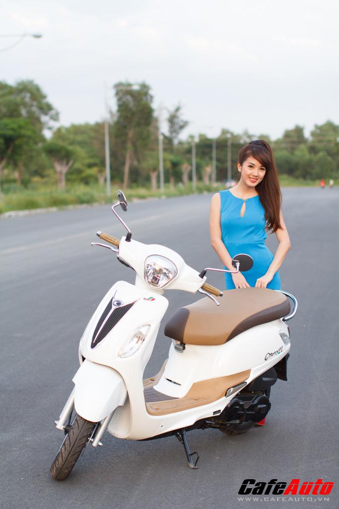 Kymco Many Fi so dang cung Hotgirl Linh Napie - 14