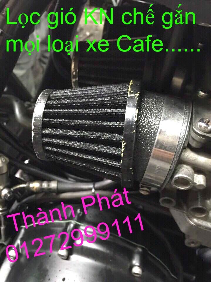 Loc gio do Loc dau DNA KN BMC cho xe Shi150 SH300 Shi VN Dylan PS PCX MSX125 KTM AB CL - 19
