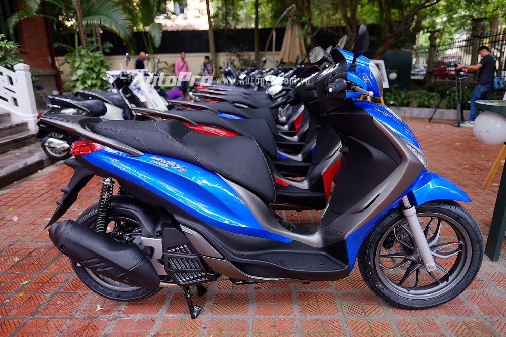Piaggio Medley S 150 ABS vua chot gia 86 trieu Dong tai Viet Nam - 5
