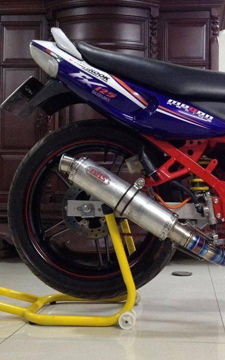Suzuki FX125 khung suon do cung bo mam Exciter 150 - 3