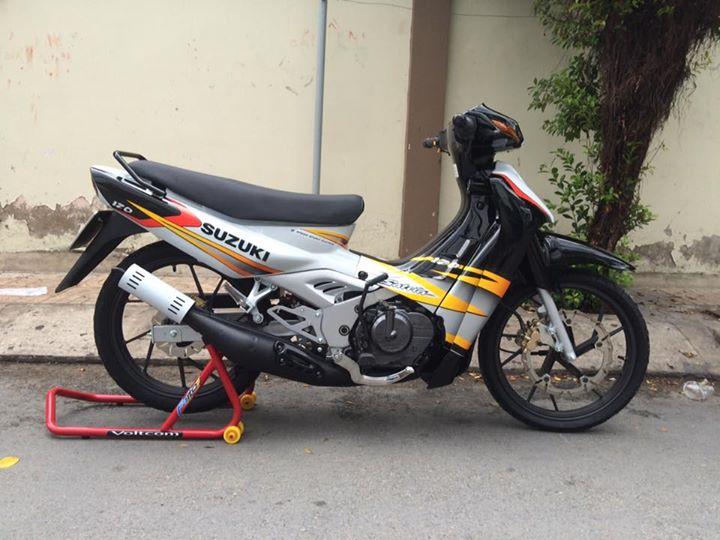 Suzuki Satria dep do den su SKF Enduro