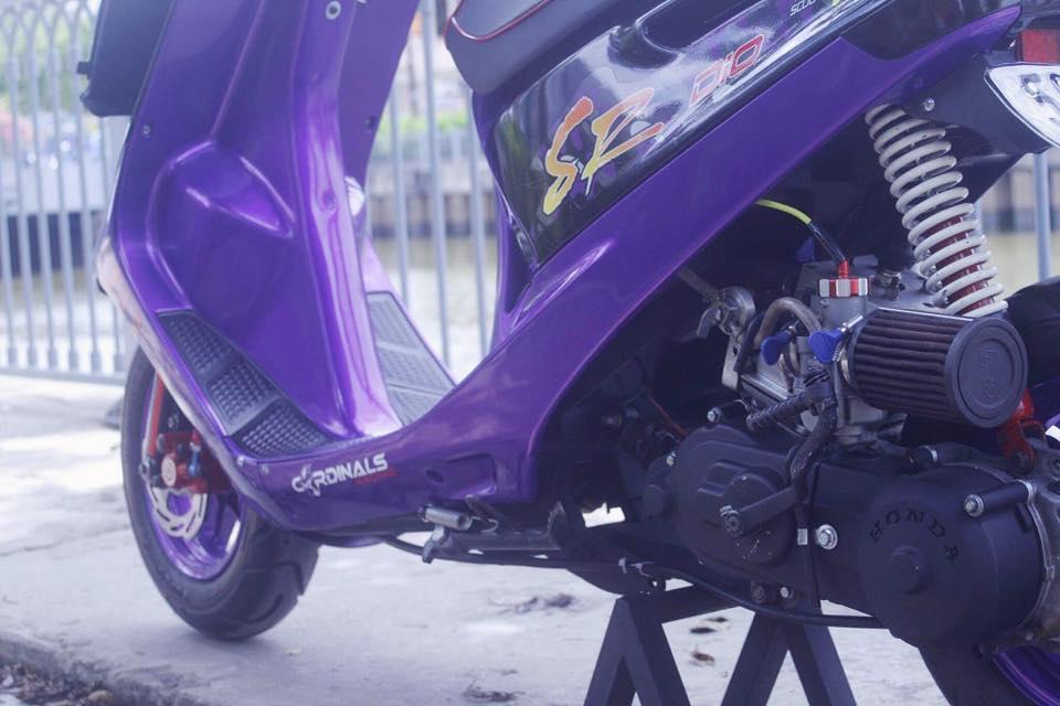 Vai tam anh Honda Dio SR do Full 52mm may nuoc - 3