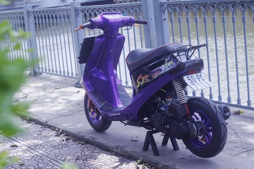 Vai tam anh Honda Dio SR do Full 52mm may nuoc - 5