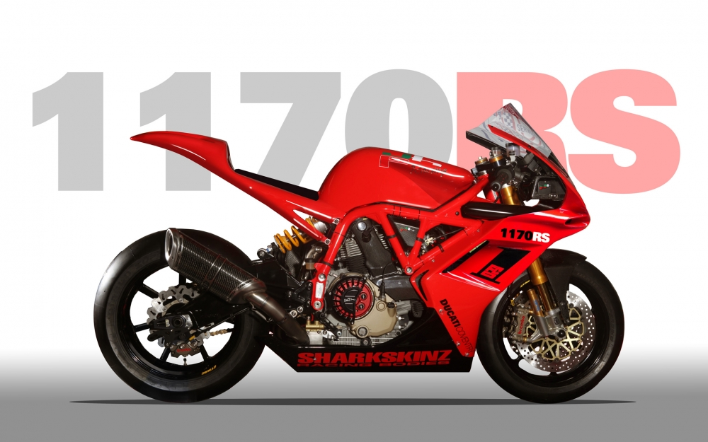 Xe dua Ducati 1170RS voi loat trang bi khung khiep - 3
