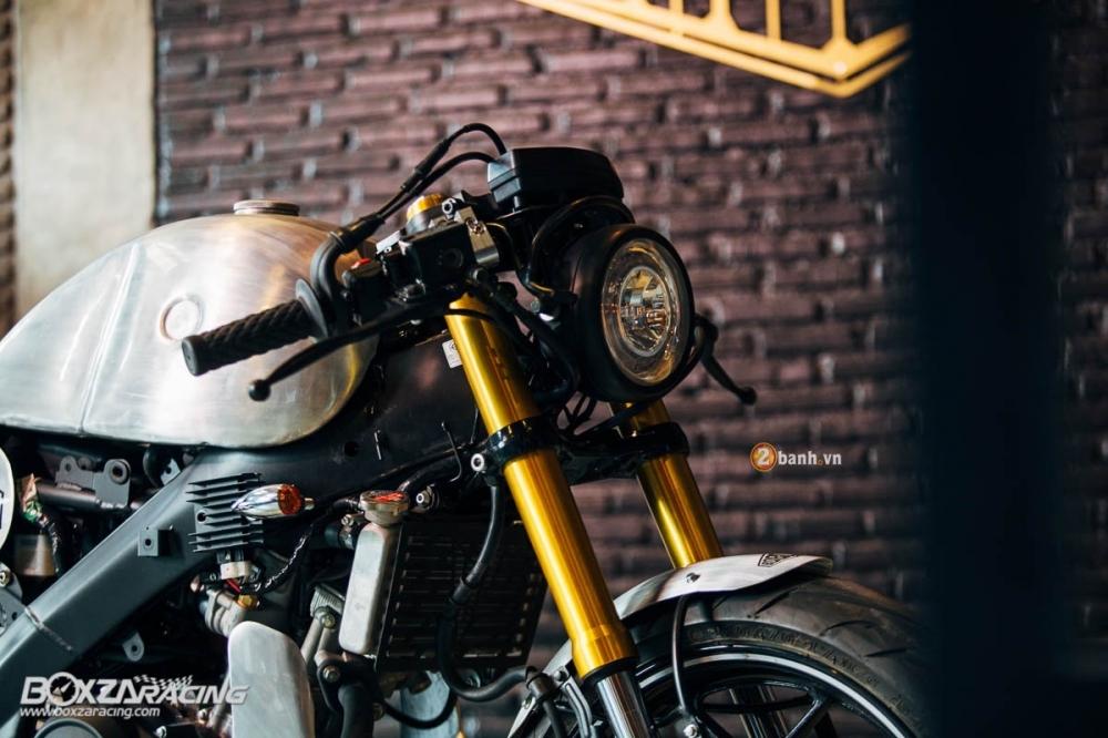 Yamaha MSlaz day an tuong voi ban do Cafe Racer - 3