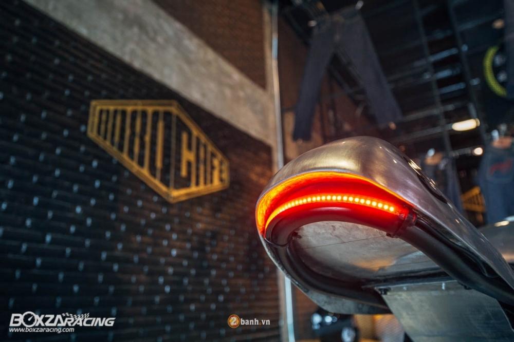 Yamaha MSlaz day an tuong voi ban do Cafe Racer - 10