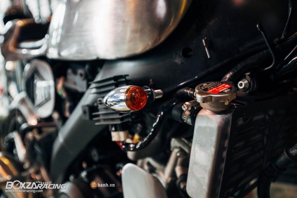 Yamaha MSlaz day an tuong voi ban do Cafe Racer - 4