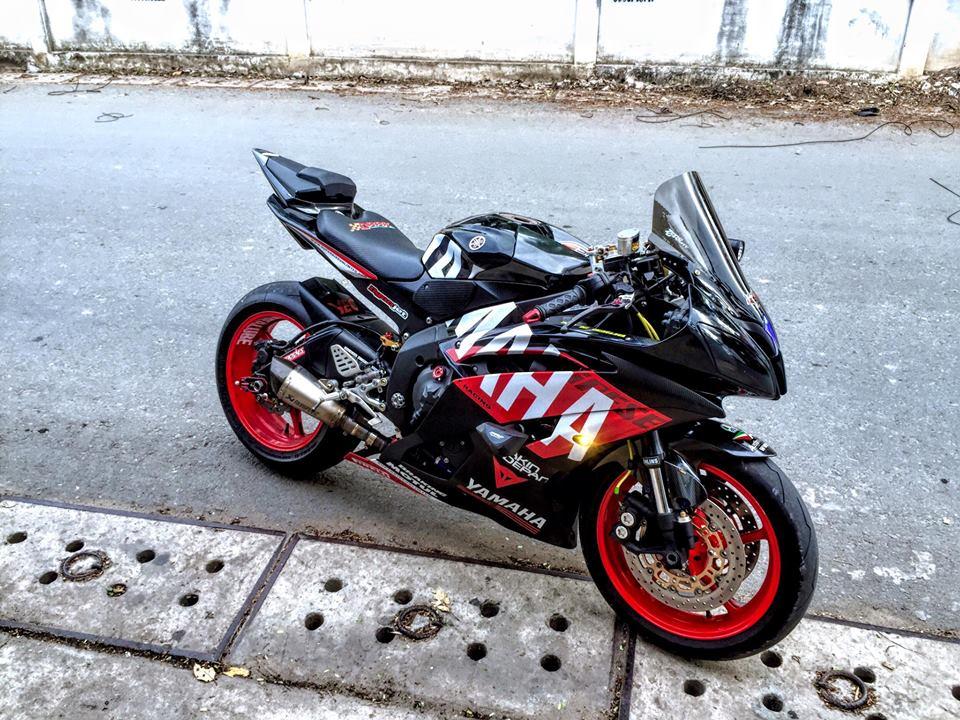 Yamaha R6 do sieu chat va day phong cach cua biker Viet