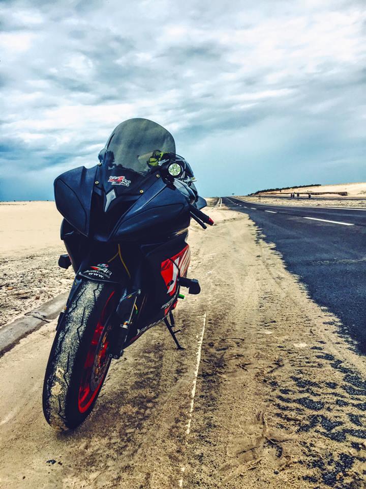 Yamaha R6 do sieu chat va day phong cach cua biker Viet - 3