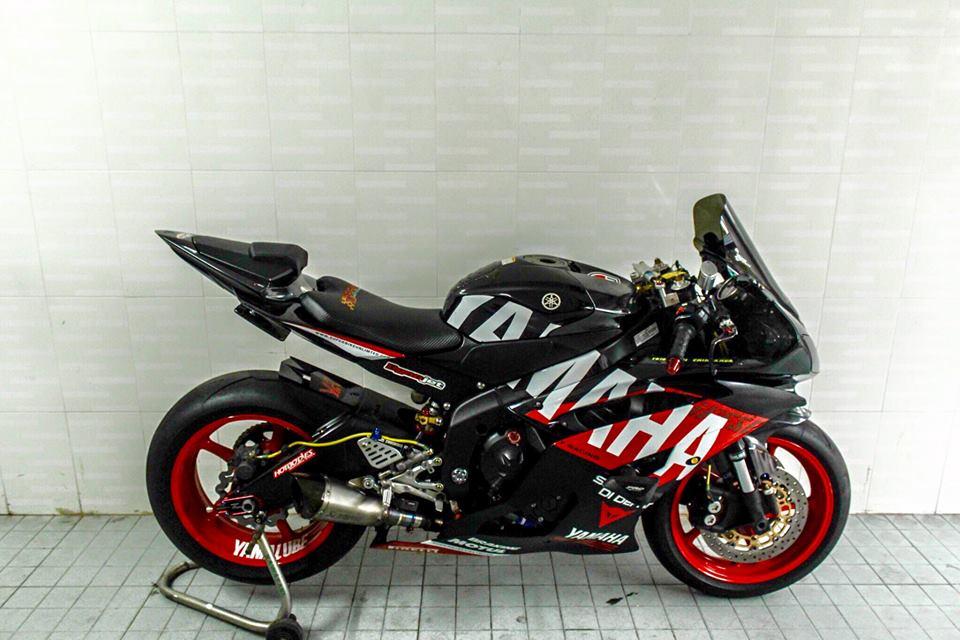 Yamaha R6 do sieu chat va day phong cach cua biker Viet - 5