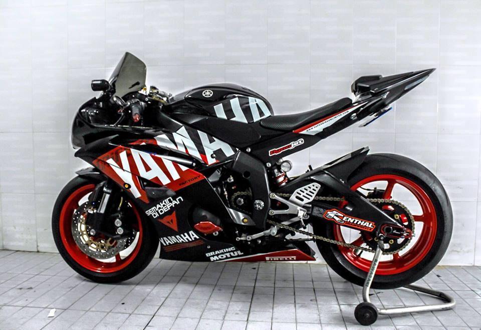 Yamaha R6 do sieu chat va day phong cach cua biker Viet - 7