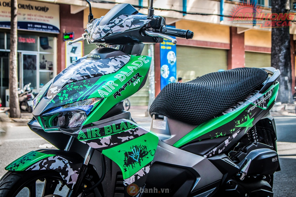 Anh Hong Decal show them ban do AirBlade 125 an tuong