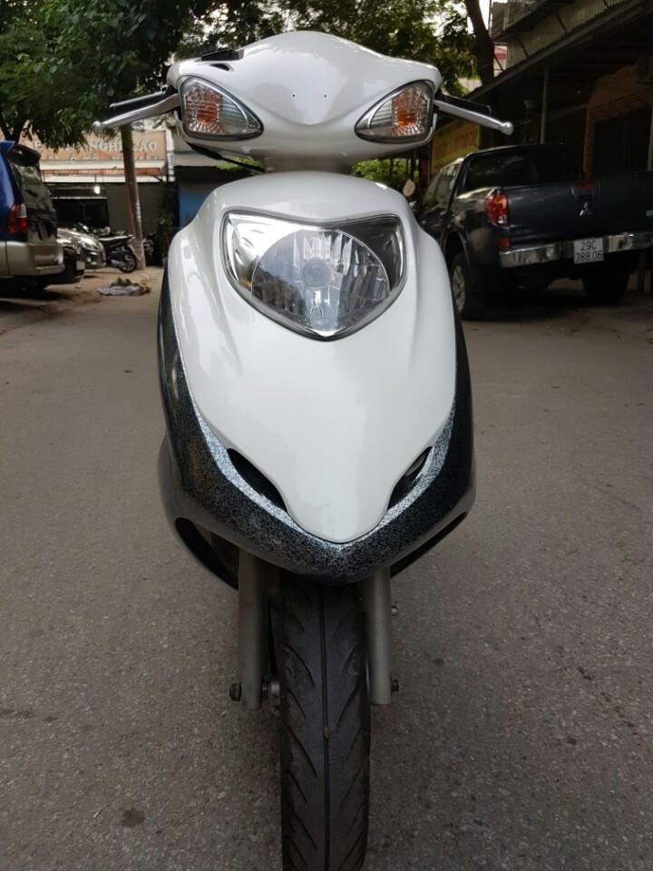 Ban Honda Joying 125cc mau trang xe chat va dep - 3