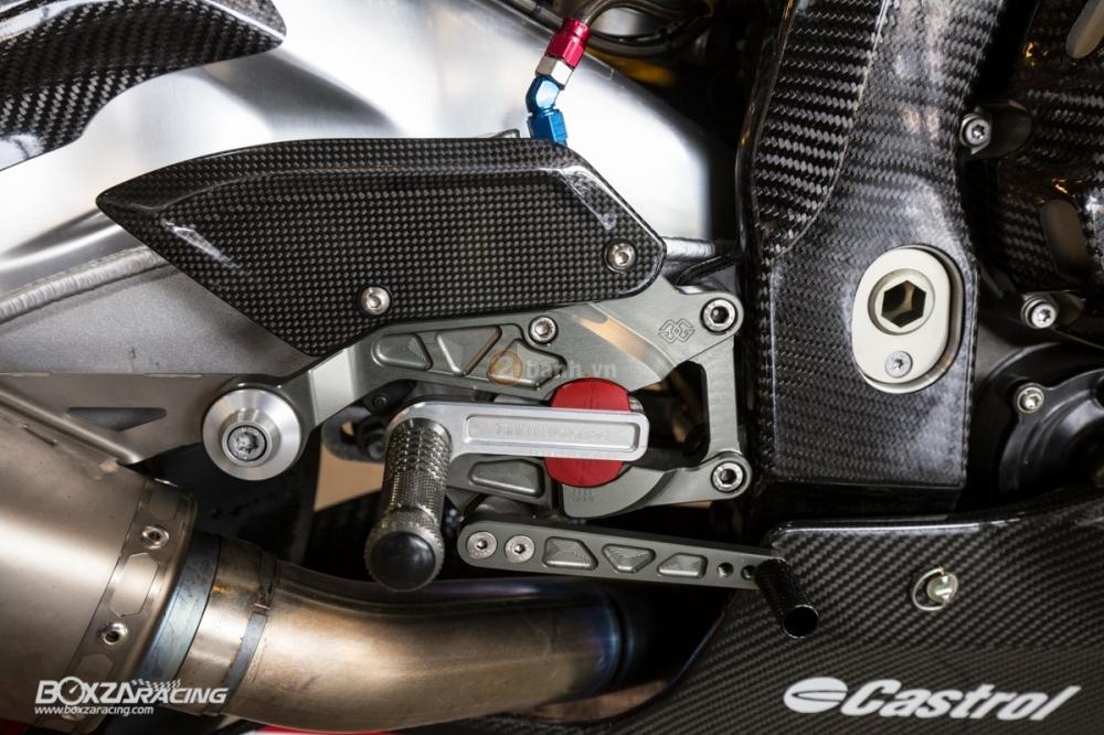BMW S1000RR so cute voi phien ban do PowerPuff Gril tu The Ackers Racing - 22
