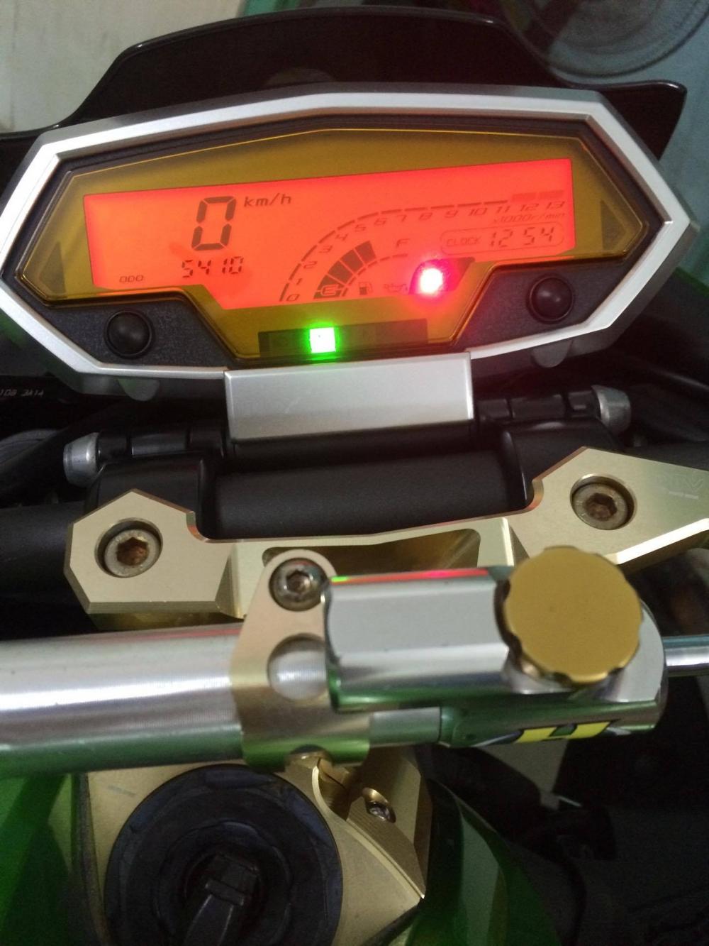Can ban Z1000 2013 mau Xanh cuc dep Xe moi dep long lanh HQCN xe co NHIEU DO CHOI - 5