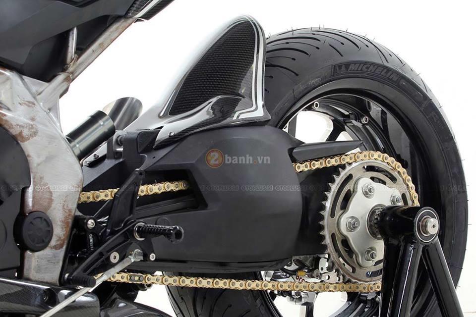 Chi tiet ban do chinh hang cua chiec Honda CBR250RR 2017 full carbon - 5