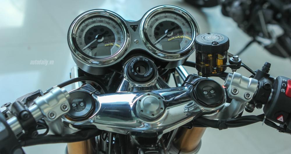 Chi tiet chiec Triumph Thruxton 1200R 2016 vua duoc nhap ve Ha Noi - 15