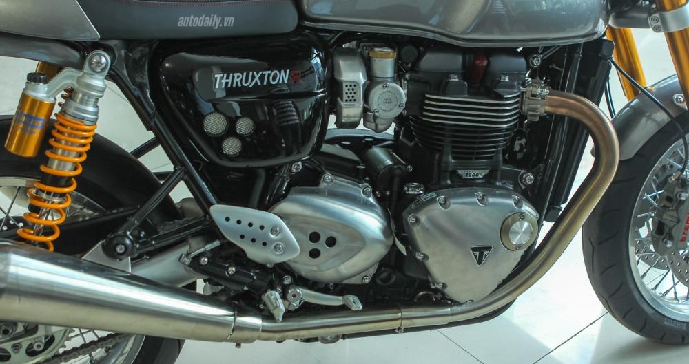 Chi tiet chiec Triumph Thruxton 1200R 2016 vua duoc nhap ve Ha Noi - 25