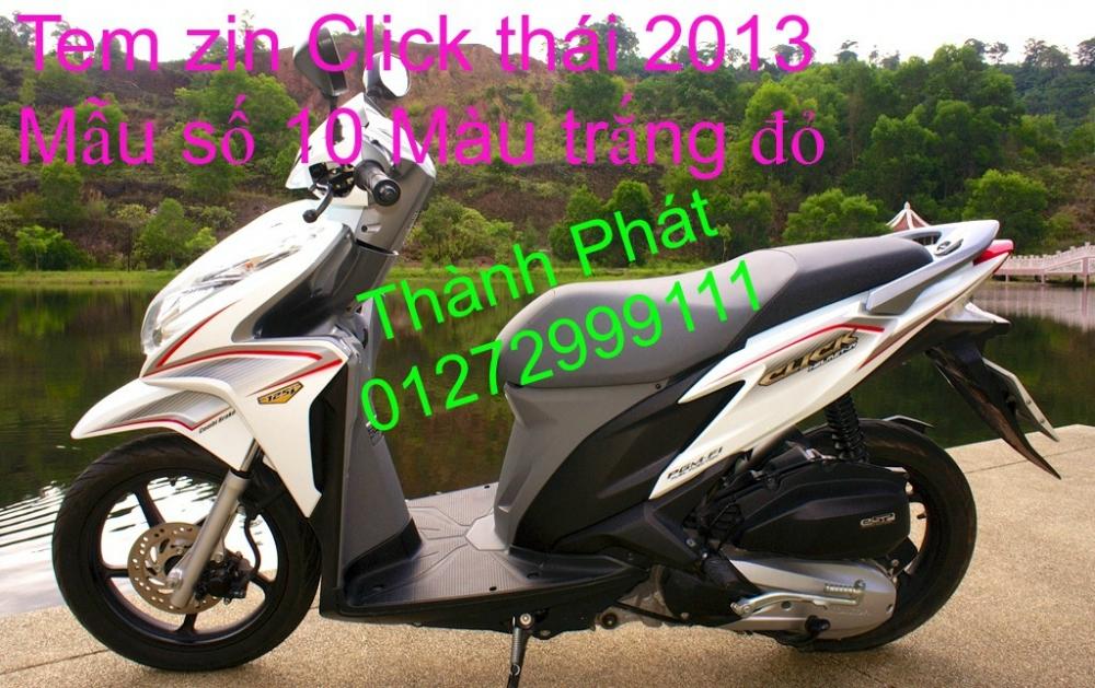 Chuyen Phu tung CLick thai 2013 Su Hayate thai va VN Gia tot - 11