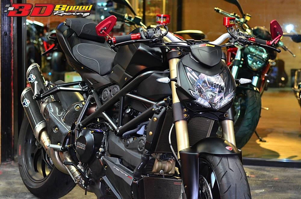 Clip Tong hop am thanh cac loai po do tren Ducati Streetfighter 848