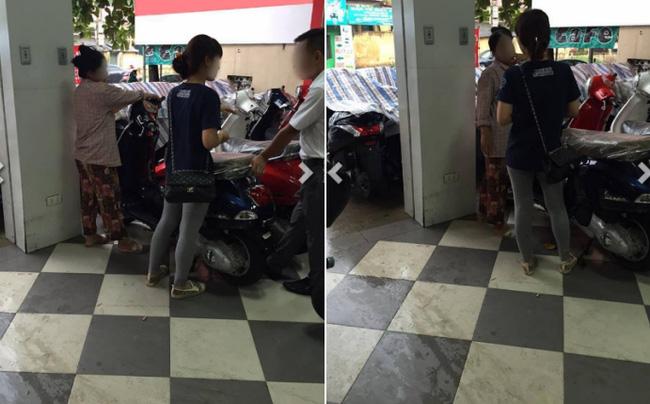 Cong dong mang tranh cai chuyen co gai nang nac doi me mua xe Vespa - 3