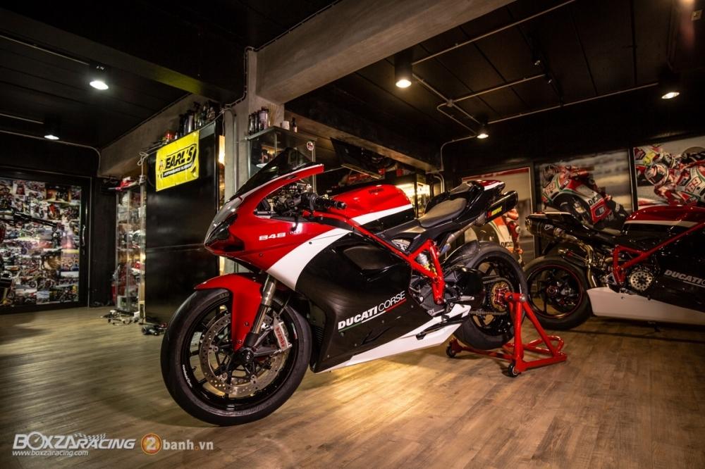 Ducati 848 Evo Corse SE do khung tai BD Speed Racing