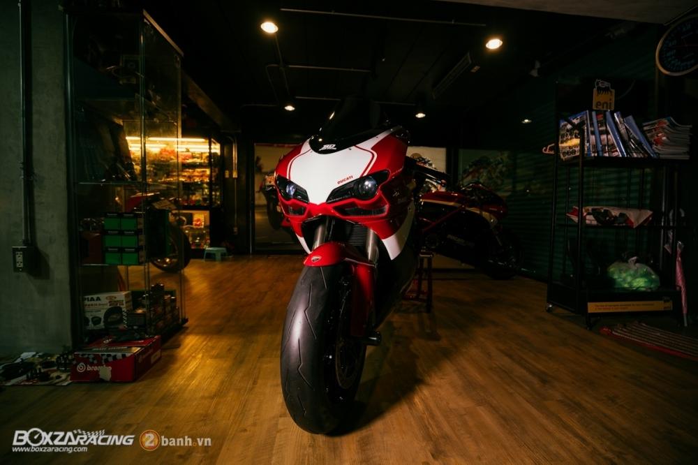 Ducati 848 Evo Corse SE do khung tai BD Speed Racing - 5