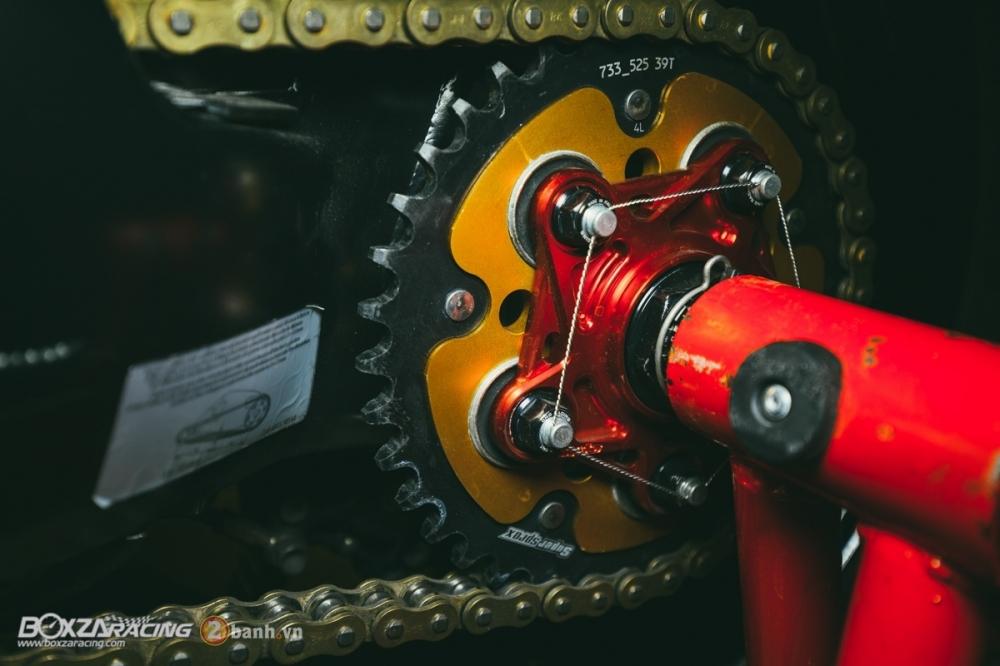 Ducati 848 Evo Corse SE do khung tai BD Speed Racing - 15