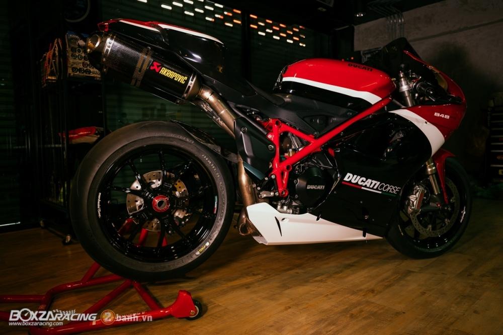 Ducati 848 Evo Corse SE do khung tai BD Speed Racing - 17