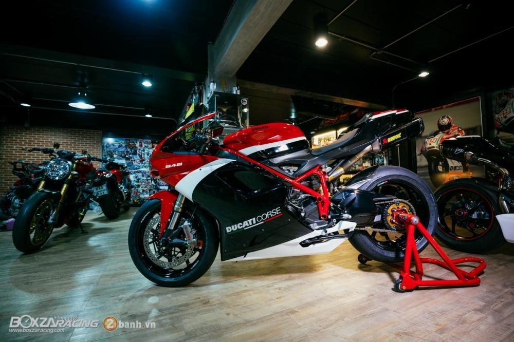 Ducati 848 Evo Corse SE do khung tai BD Speed Racing - 21