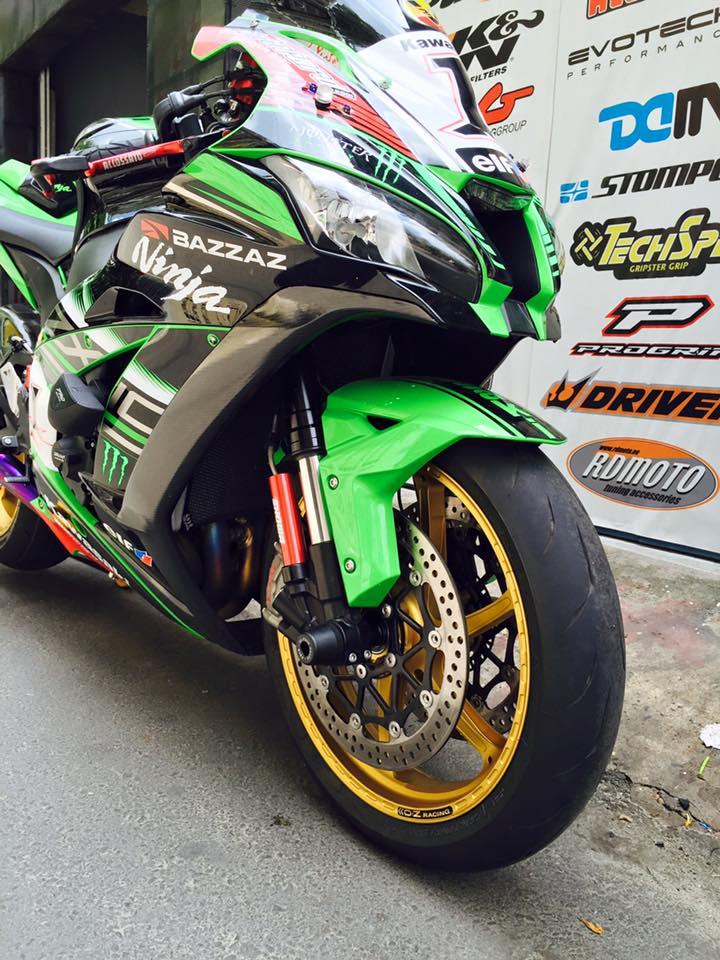 Hang khung ZX10R 2016 dau tien len mam OZ Racing tai Viet Nam - 5