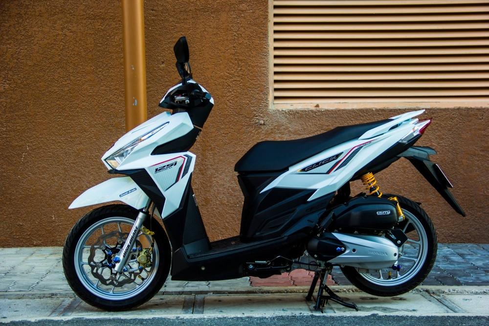 Honda Click 125i trang tinh khoi day ca tinh - 6
