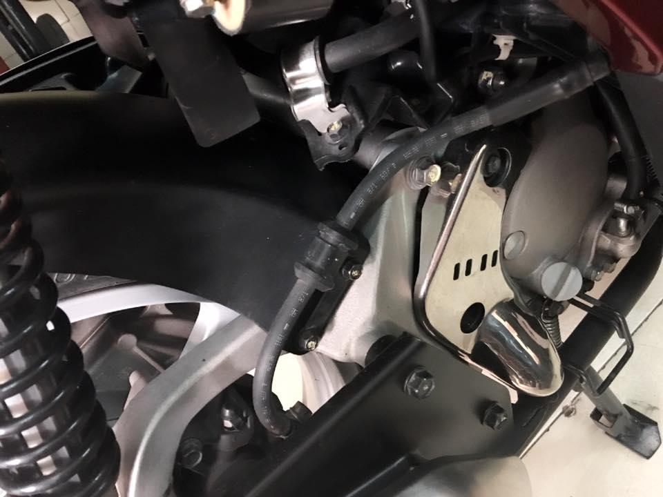 Honda Sh Y 150i mau do den bstp 20789 chinh chu - 3