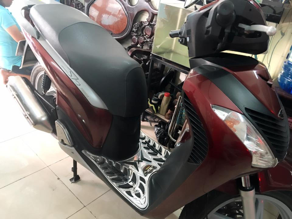 Honda Sh Y 150i mau do den bstp 20789 chinh chu - 9