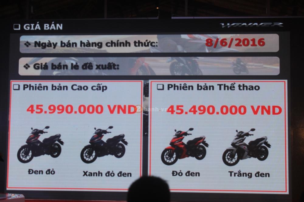 Honda Winner 150 bat dau ha gia sau 1 thang ban ra thi truong - 3