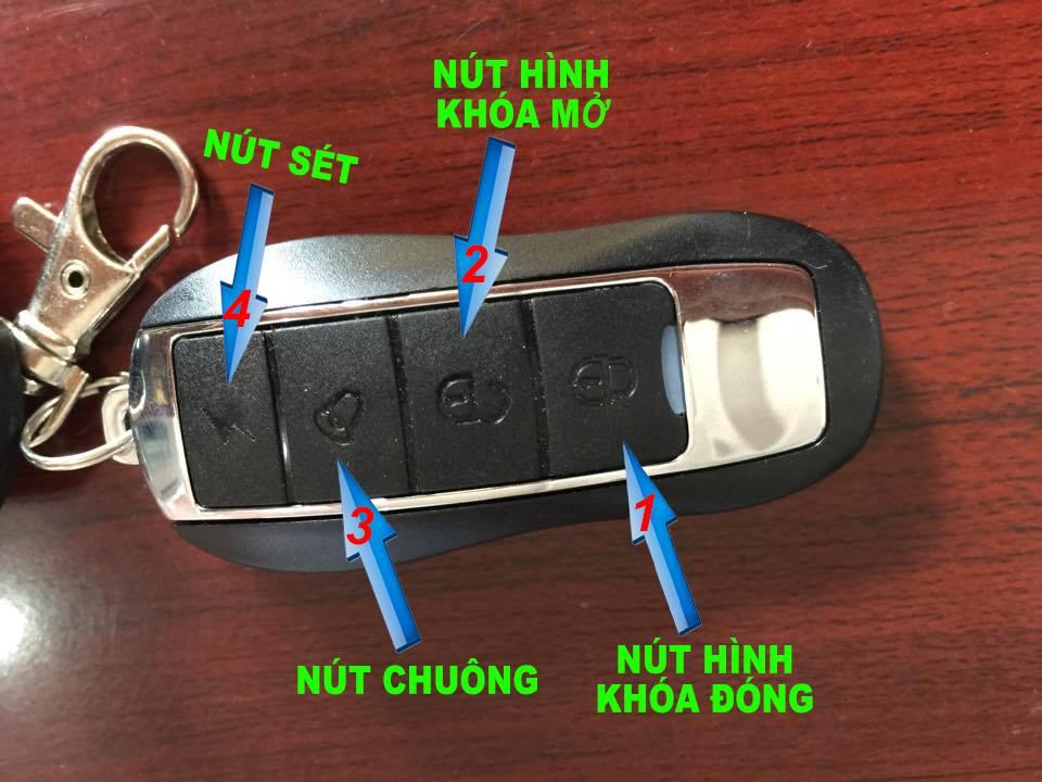 Huong dan su dung khoa dien tu xe dap dien NijiaS - 3