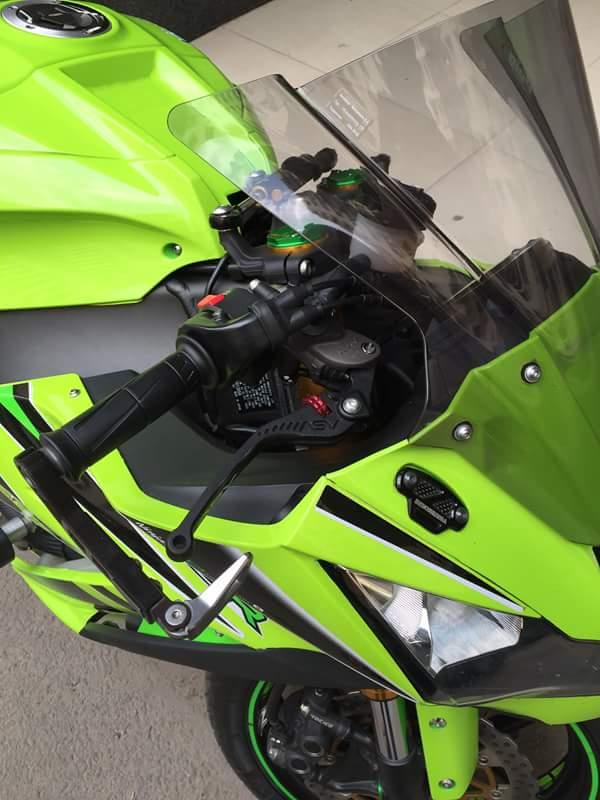 Kawasaki ZX10R chat choi voi sung Austin Racing ham ho - 5