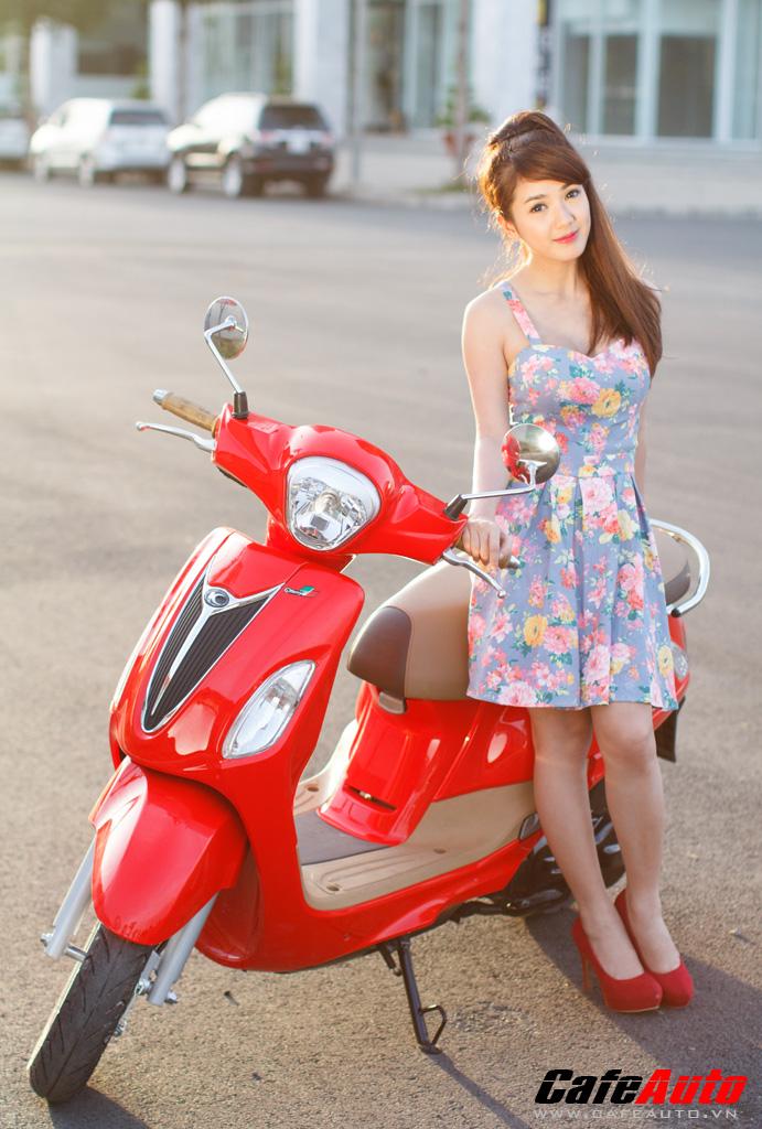 Kymco Many Fi so dang cung Hotgirl Linh Napie - 2