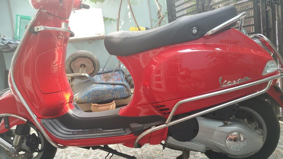 Piaggio Vespa LX 125 2014 mau do bien so thanh pho moi 95 - 2