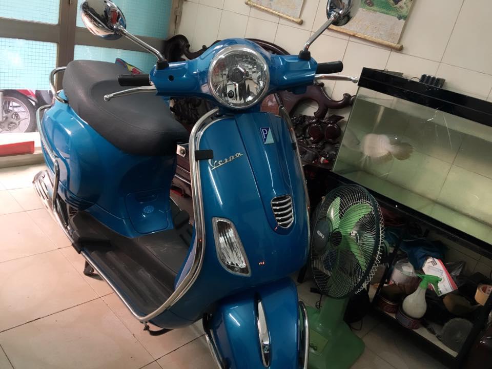 Piaggio vespa Lx 125 3vie mau xanh chinh chu bstp - 5