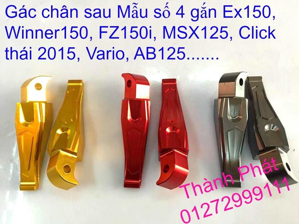 So gay gac chan sau cho Ex150 Ex2011 MSX125 FZ150i Raider KTM DukeUp 1192015 - 11