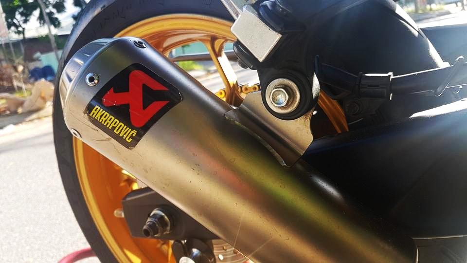 Yamaha R3 dam chat the thao voi phien ban Redbull cua biker Da Nang - 9